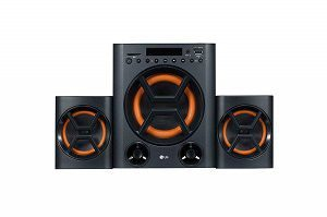 LG - LK72BE Boom Blastic Multimedia Speakers