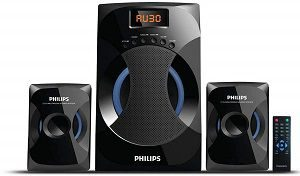 Philips MMS-4545B 2.1 Channel Speakers System