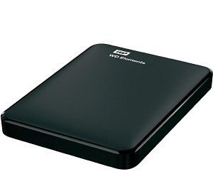 Western Digital Elements 1TB External Hard Disk