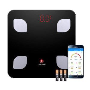 Lifetrons Smart Body Composition Digital Weighing Scale