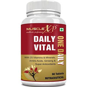 MuscleXP Daily Vital Multivitamin
