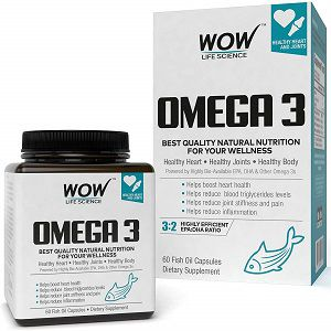 Wow Omega-3 Fish Oil Capsules