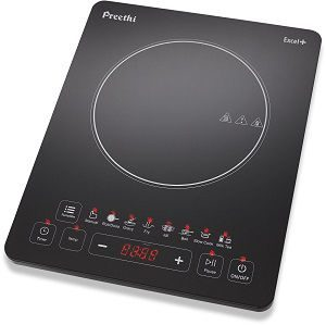 Preethi Excel Plus 117 1600-Watt Induction Cooktop