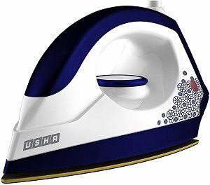 Usha EI 3302 Gold 1100-Watt Lightweight Dry Iron