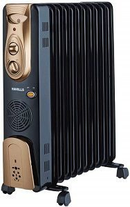 Havells OFR - 11Fin PTC Fan Heater 2900-Watt best in india