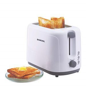 Borosil BTO750WPW11 Krispy Pop-up Toaster