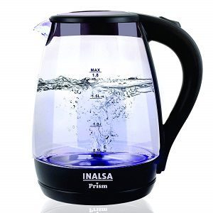 Inalsa Electric Kettle PRISM-1500W with LED Illumination