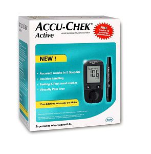 Accu-Chek Blood Glucose Meter with 10 strips