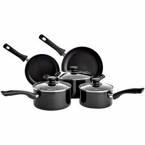 AmazonBasics Non-Stick Cookware Set