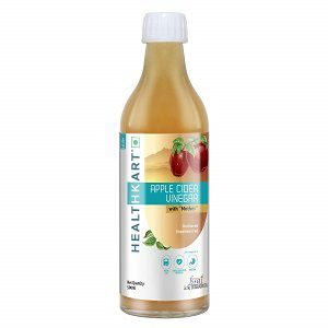 Healthkart Apple Cider Vinegar with Mother Unflavored