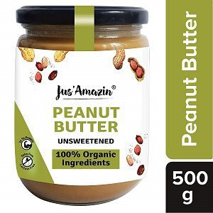 JUS' AMAZIN Organic Peanut Butter All Natural