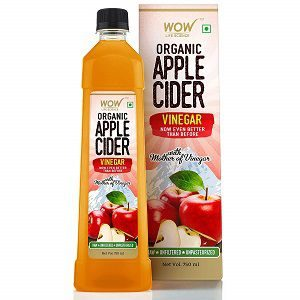 WOW Life Science Organic Apple Cider Vinegar