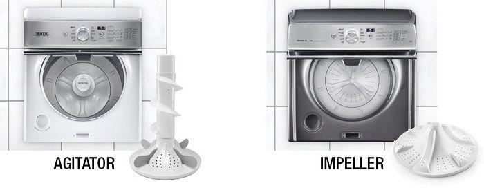 Agitator vs Impeller in semi automatic washing machine