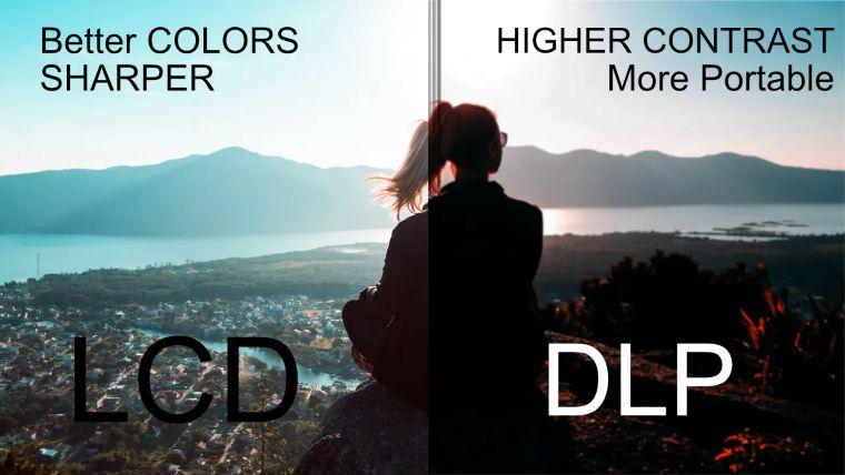 LCD vs DLP Projectors