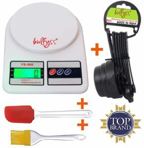 Bulfyss Advanced Electronic Kitchen Digital Weighing Scale with Capacity Up to 10 kg