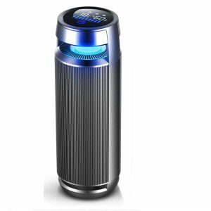 Vantro Smart Car Air Purifier with HEPA & Ionizer
